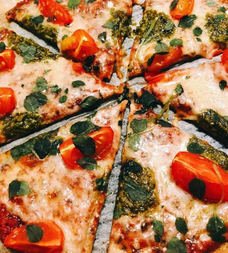 Pizza med Tonfiskbotten